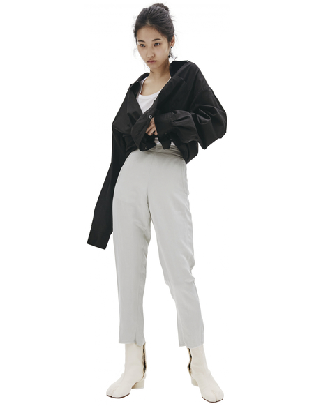 Ann Demeulemeester Grey Trousers