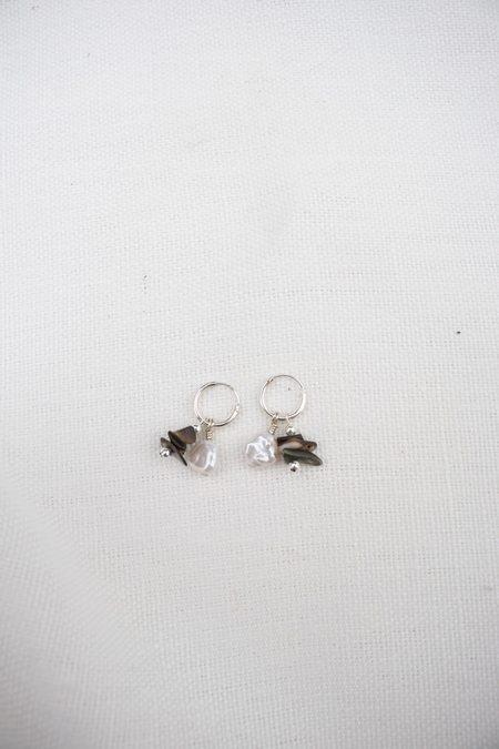 Santangelo Baba Earring - Baby Abalone Stack