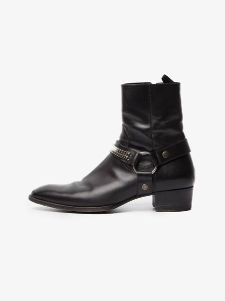 [Pre - Loved] Saint Laurent Paris Male Wyatt Chain Harness Boots