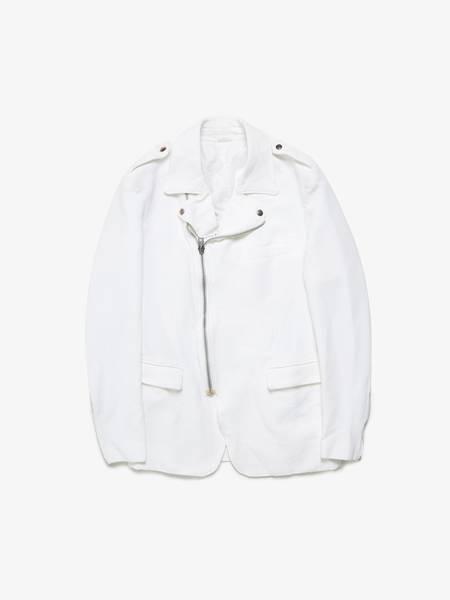 PRE-LOVED Comme Des Garcons Homme Plus Suit Jacket - white