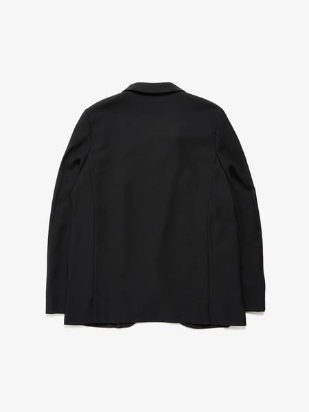 [Pre -Loved]Comme Des Garcons Homme Plus Diagonal Line Ribbed Polyester Jacket - Black