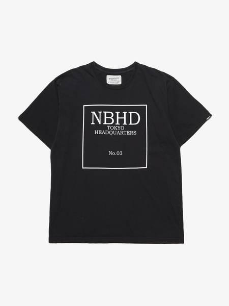 [Pre-Loved] Neighborhood Male NBHD Printed T-shirt