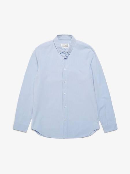 [Pre -Loved] Maison Margiela Cotton Shirt - Blue