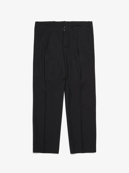 Maison Margiela Wool Formal Trousers - Black
