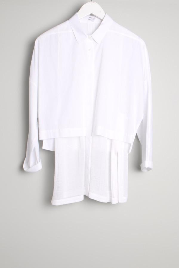 Helmut Lang Cotton Layered Shirt