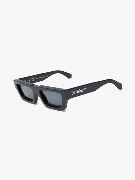 [Pre - Loved] Off-White Male Manchester Square Frame Sunglassess - Black