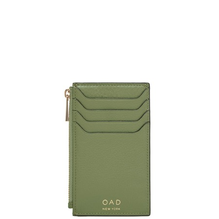 OAD Billy Zip Card Case - Olive