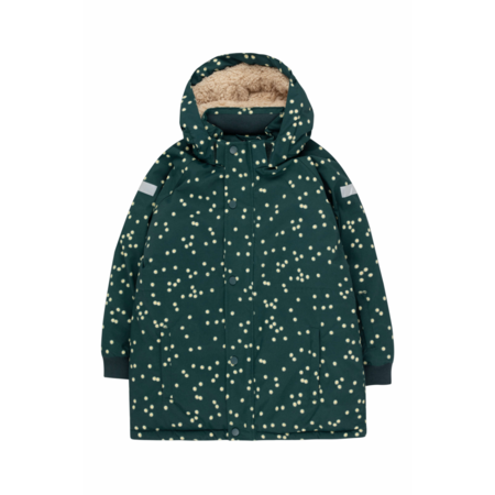 kids Tinycottons Daisies Snow Jacket - Ink Blue