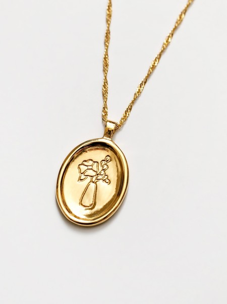 Wolf Circus Florence Necklace - Gold
