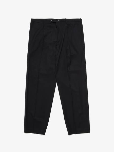 [Pre - Loved] Ann Demeulemeester Male Formal Wool Trousers - Black