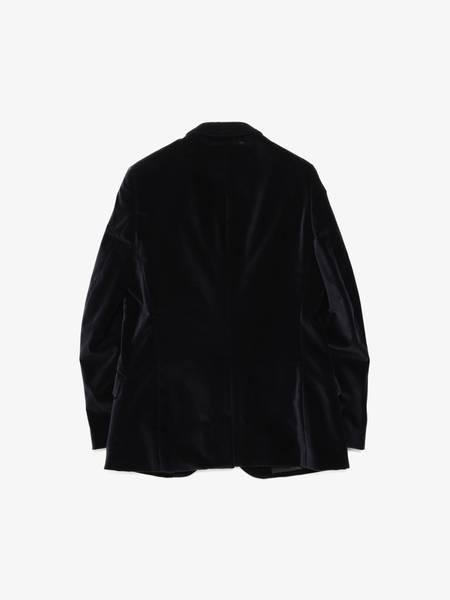 [Pre - Loved] Paul Smith Male Velvet Cotton Blazer Jacket - Navy
