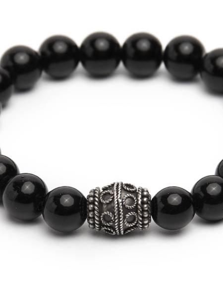 [Pre - Loved] Other Marble Bracelet - Black