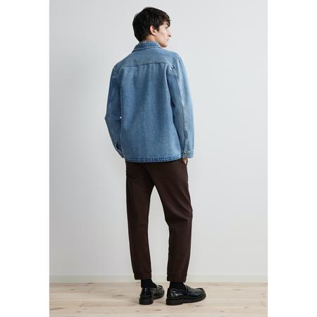 NN07 peter 1816 Jacket - Blue Denim