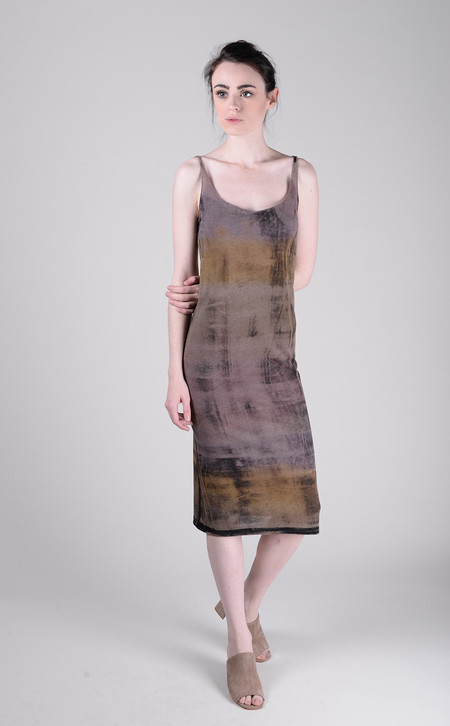 Raquel Allegra Signature Jersey Layering Tank Dress