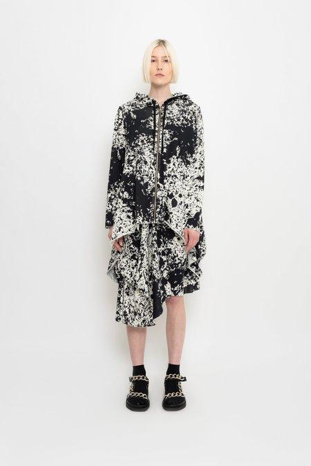 UMA Raquel Davidowicz Tubarão Spattered Printed Wide Pullover