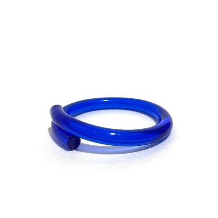 Corey Moranis Narrow Rod Bracelet - Blue/Yellow