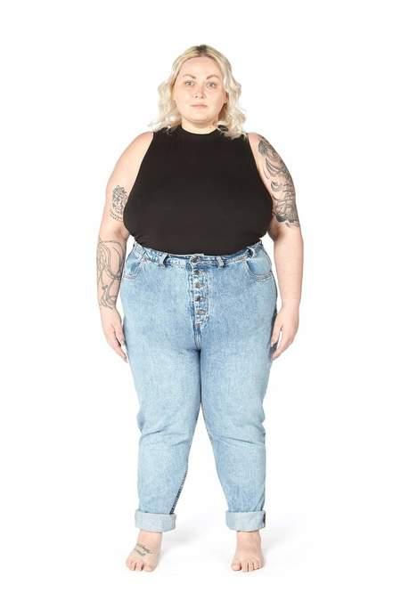 Decade Pamela Jeans - Blue