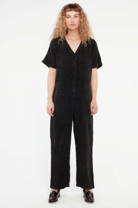 Lacausa Marley Jumpsuit - Mineral Wash Black