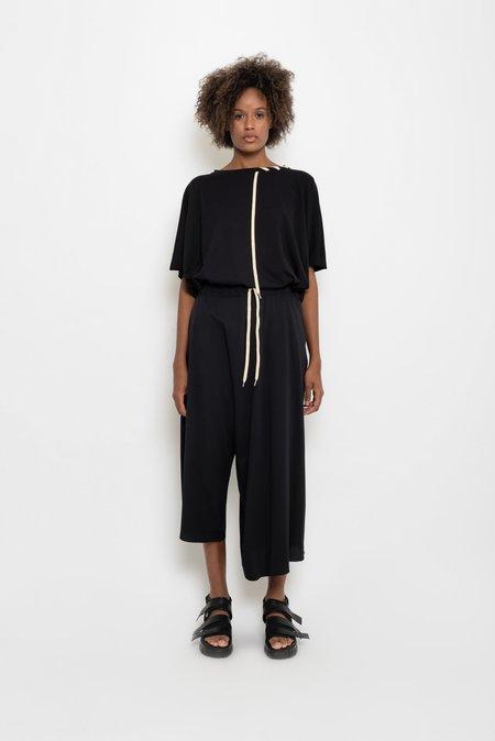UMA Raquel Davidowicz Cotton Jersey Ssymmetric Culottes - Curió