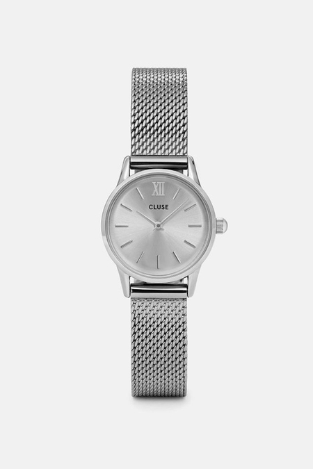 CLUSE WATCH La Vedette Mesh Full Silver
