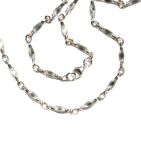 Maple Sunburst Chain - Silver