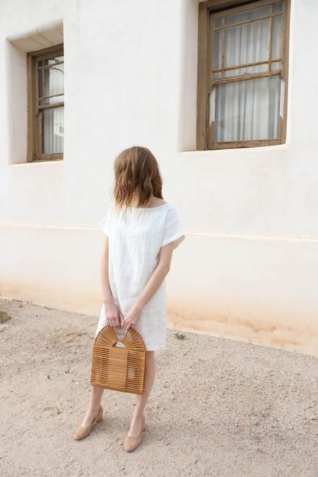 Ozma Weekend Dress in White