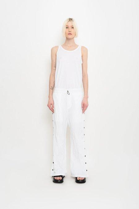 UMA Raquel Davidowicz Crumpled Versatile Pants - White