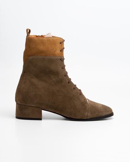 Naguisa Buran boots - Green