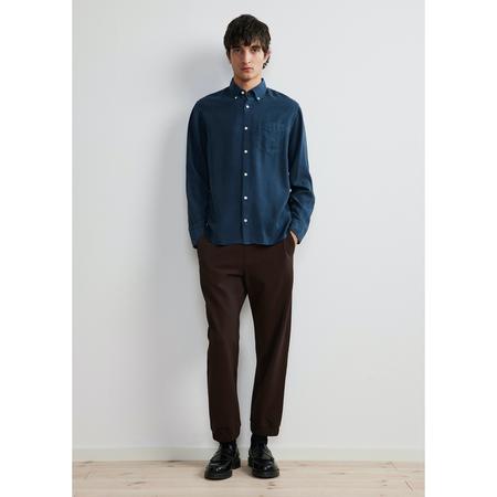 NN07 levon shirt - 5969 Ocean