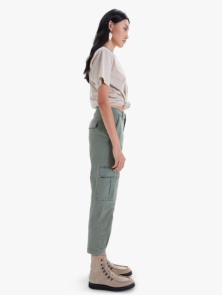 Mother Denim The Catch All Cargo Ankle Jeans - Cypress