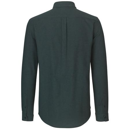 Samsoe Samsoe liam nf shirt - 7383 Darkest Spruce Mel