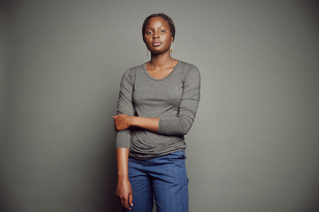 Obakki Long Sleeve T-shirt - Heathered Charcoal