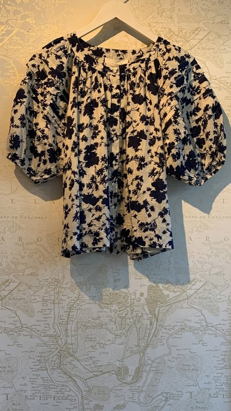 The Great. Carriage Top - Floral