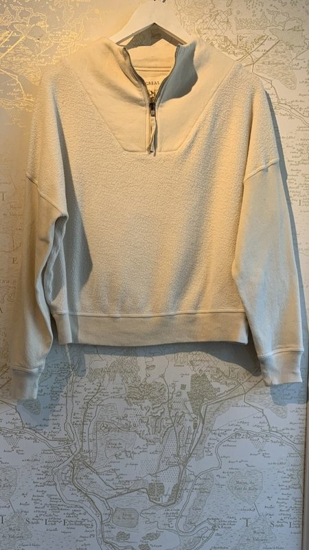 The Great. Trail Sweatshirt - White