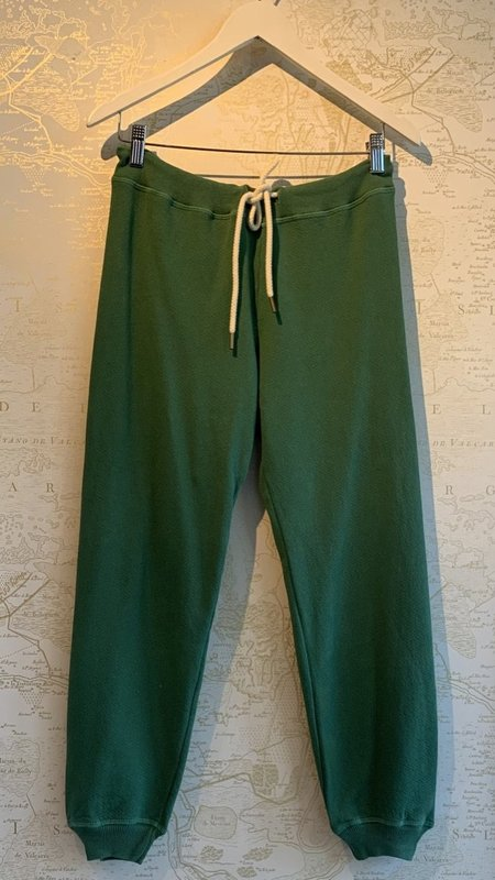 The Great. Cropped Sweatpant - Green