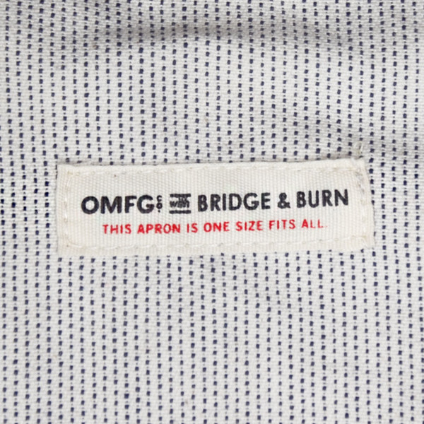 Bridge & Burn OMFGCO Apron