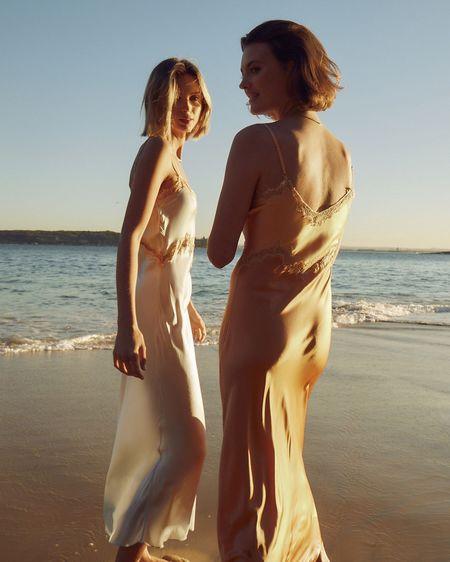 Ginia Hope Lace Dress - Nectarine