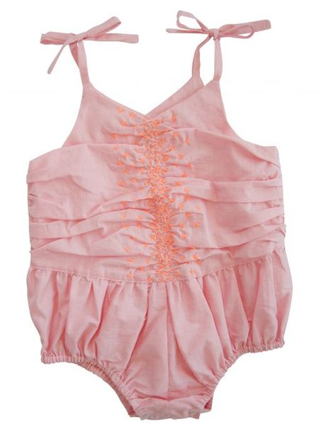 Everbloom Pink Sunsuit