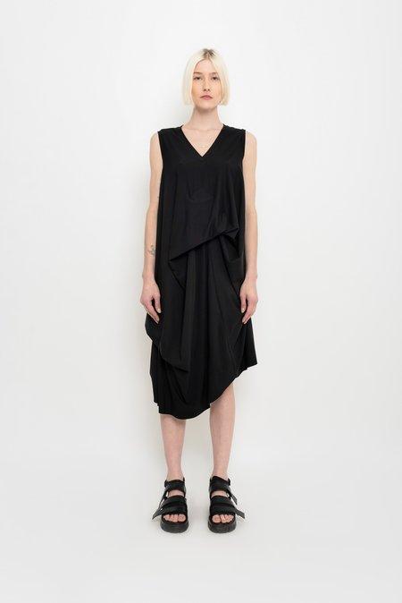 UMA Raquel Davidowicz Asymmetrical Draped Jersey Dress - Pata