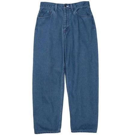 Nanamica Inc. 5 Pockets Pants - Indigo Bleach