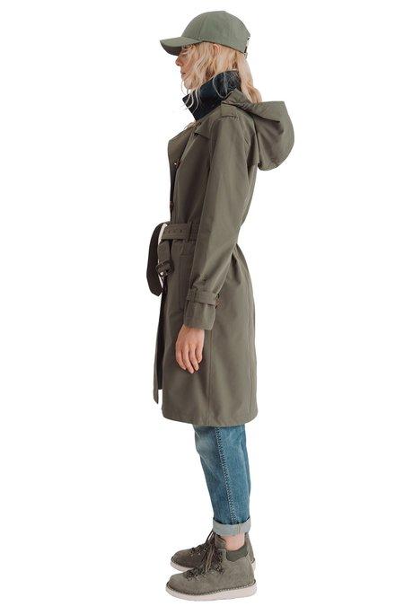 Blæst VIGRA coat - DARK OLIVE