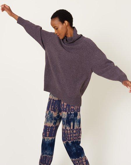 Demy Lee Alessi Turtleneck Sweater - Dark Lavender