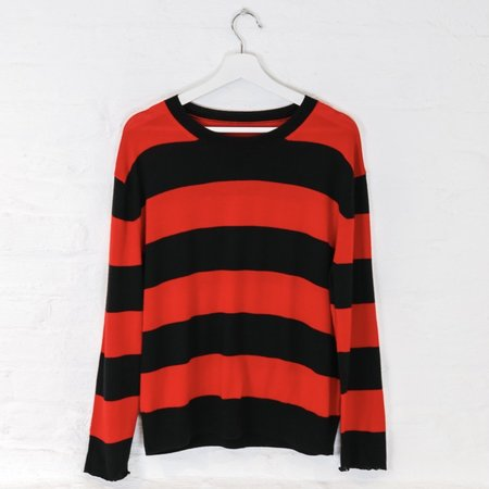 little high, little low NIRVANA sweater - nevermind