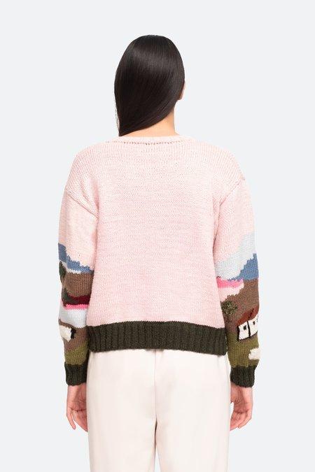 Sea NY Sheep Intarsia Sweater