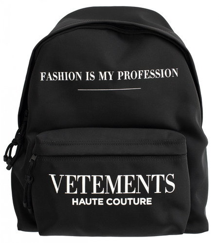Vetements Fashion is my Profashion Printed Backpack