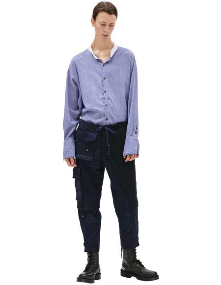 Greg Lauren with pockets Cargo  - Navy Blue