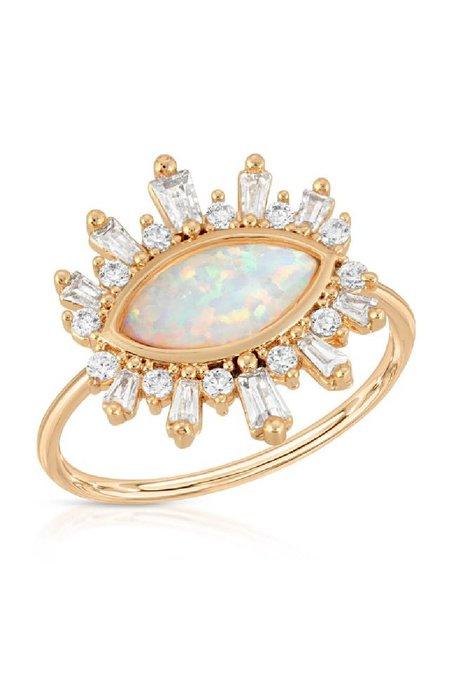 Elizabeth Stone Athena Ring - Opal
