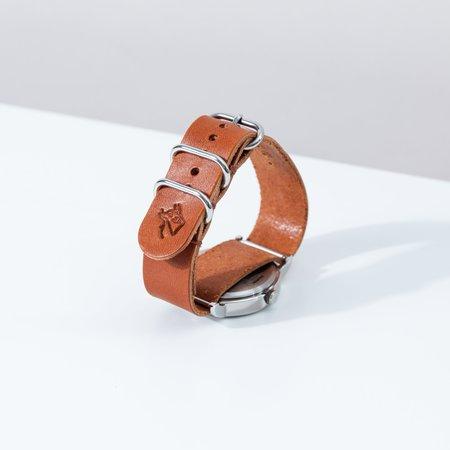 Foxtrot Studio Simple Watch - Cognac