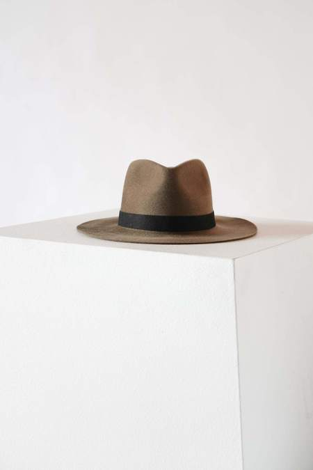 Janessa Leone Luca Hat - Camel