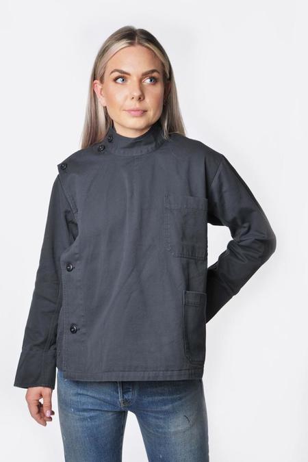 Chimala Twill British Army Cook Jacket - Off Black